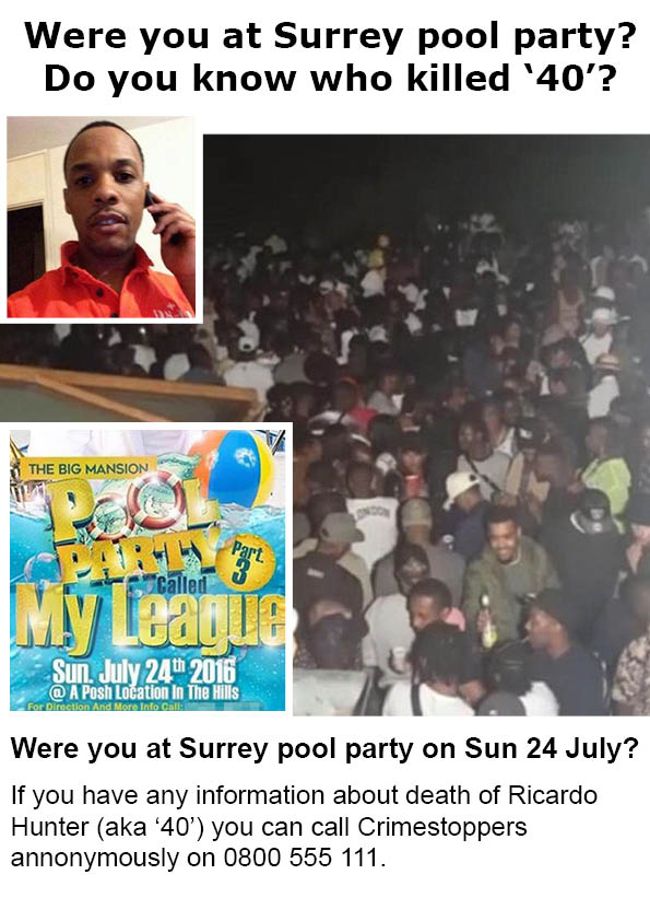 Were you at Surrey pool party in Headley on Sunday 24 July?