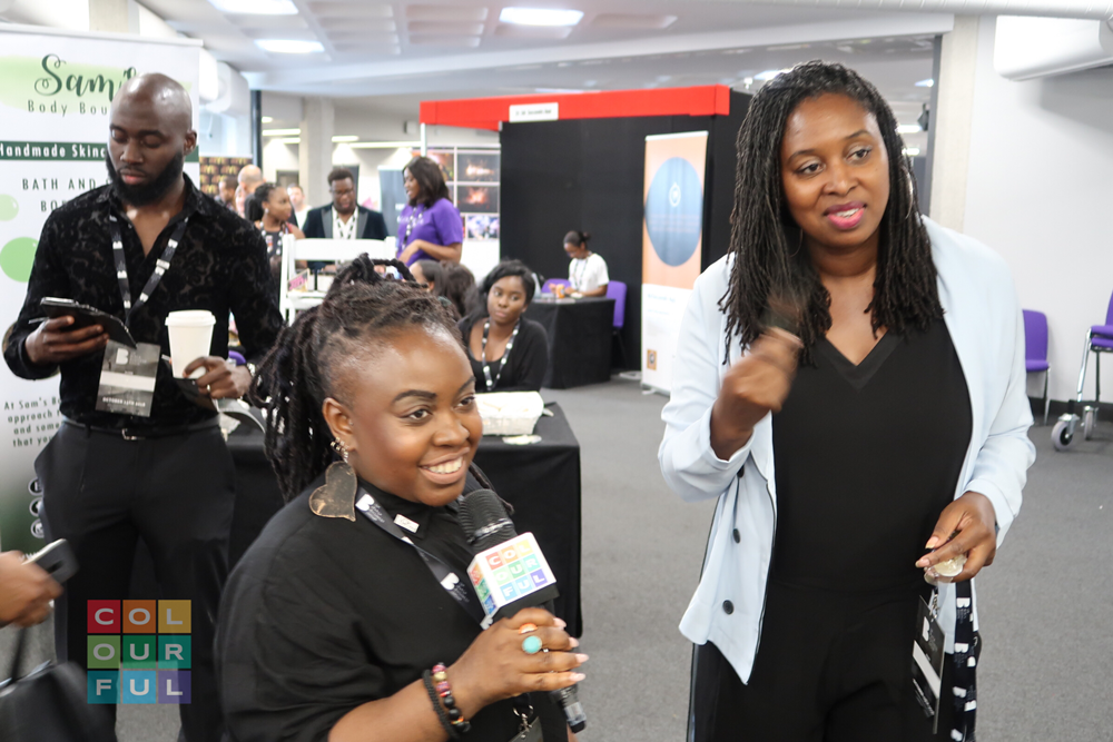 Colourful Broadcast Live from UK Black Business Show 2018