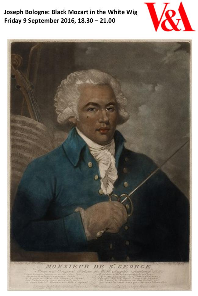 Chevalier de Saint-Georges, aka Joseph Bologne