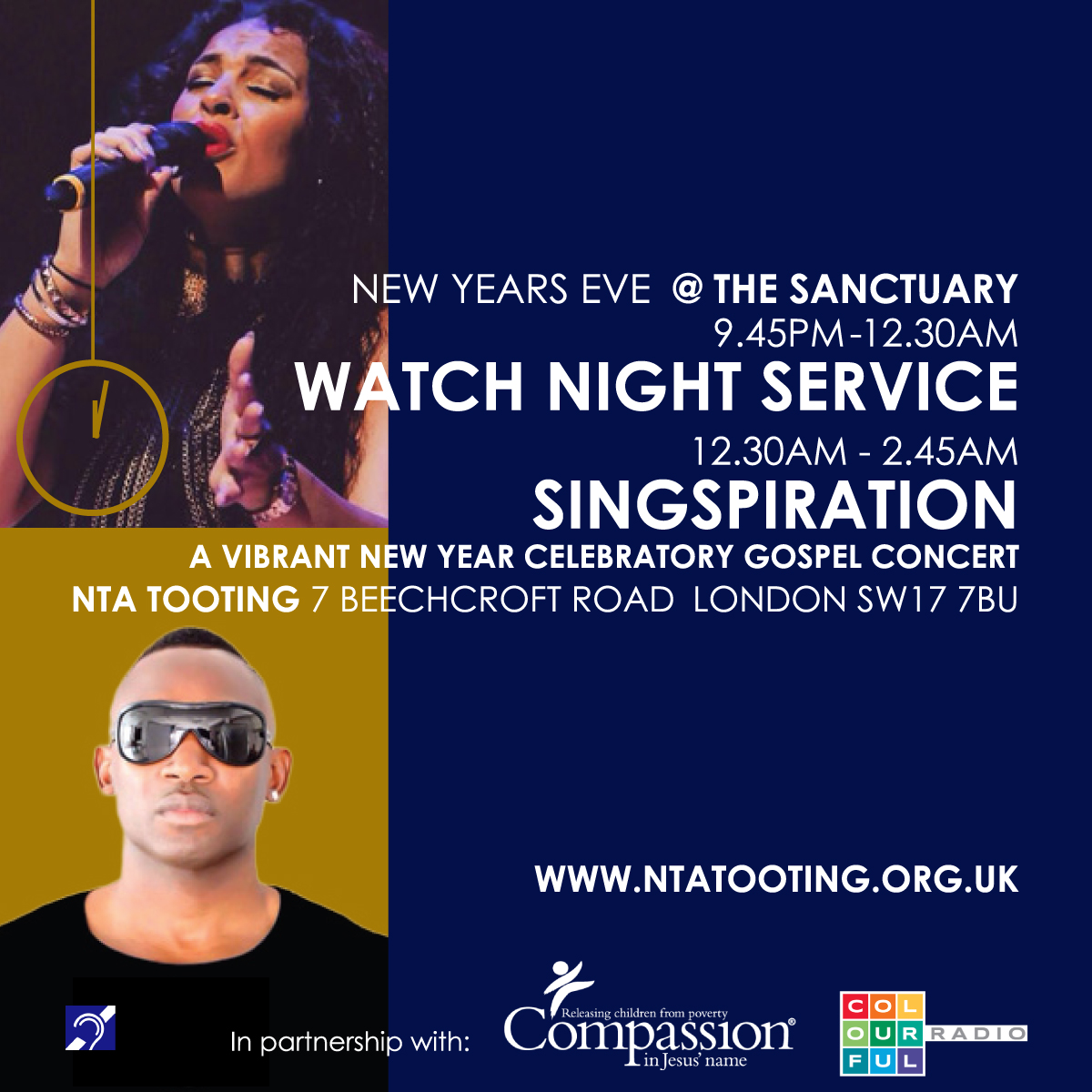 Watch Night Service & Singspiration