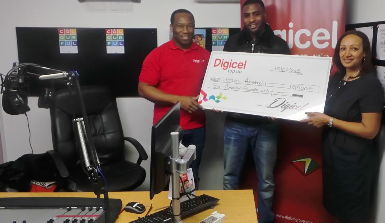 Digicel - Start the Year On Us winner - Jason Armstrong