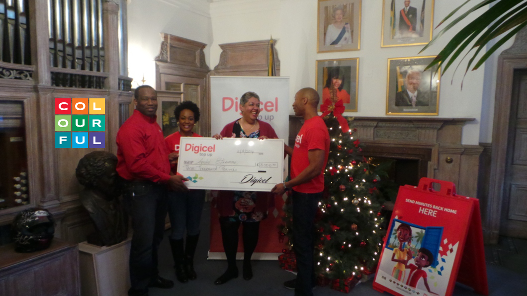 Christmas is arriving early for a lucky Digicel customer in the UK