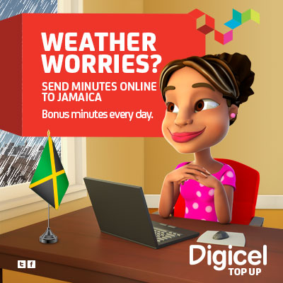 COLOURFUL Top up family and friends via Digicel