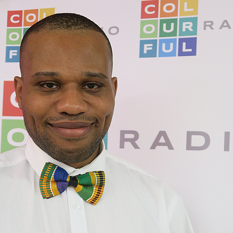 The new film host on Colourful Radio is Emmanuel Anyiam-Osigwe