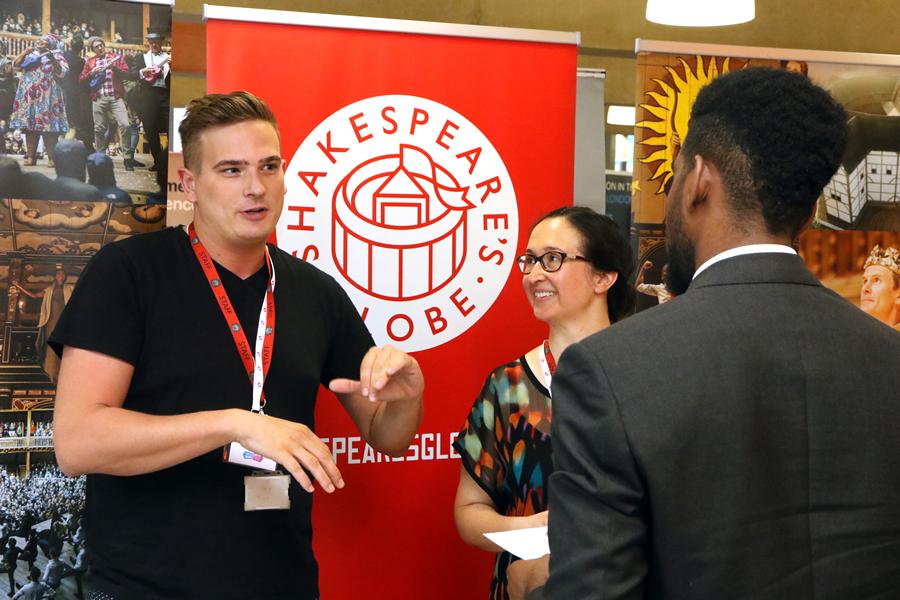 Exhibit at the London Jobs Fair – East