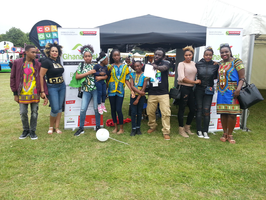 Ghana First Goes Colourful At Ghana Party In The Park 2017