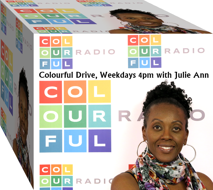 Colourful Drivetime with Julie Ann Ryan