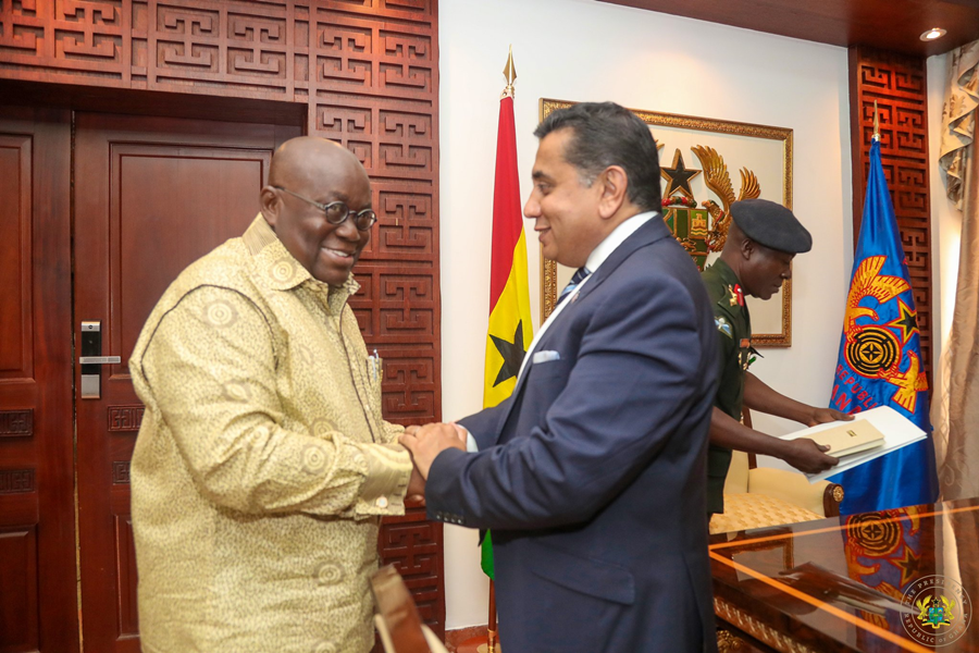 Lord Ahmad of Wimbledon Meets President Akufo-Addo of Ghana