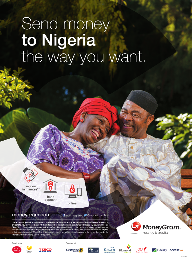 MoneyGram Recognized As Trusted Money Transfer Provider  In Nigeria