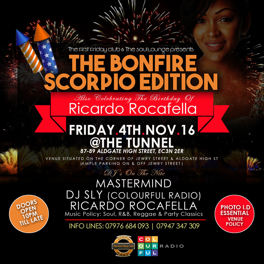 Birthday celebration for Ricardo Rocafella