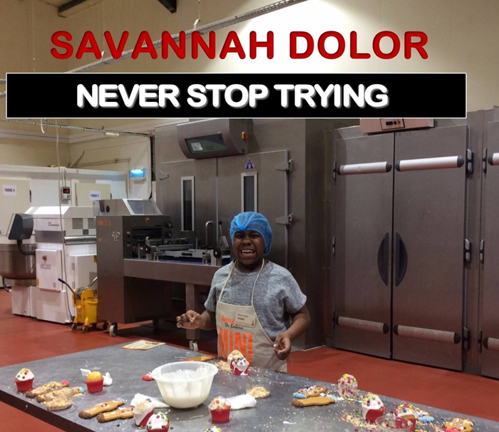 Help Savannah raise money