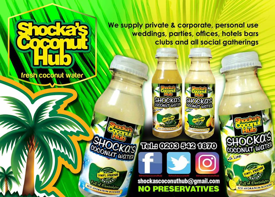 Shocka's Coconut Water