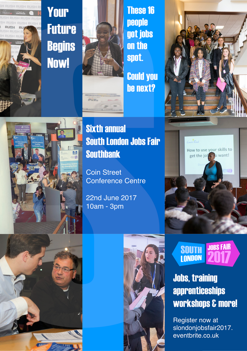 South London Jobs Fair 2017