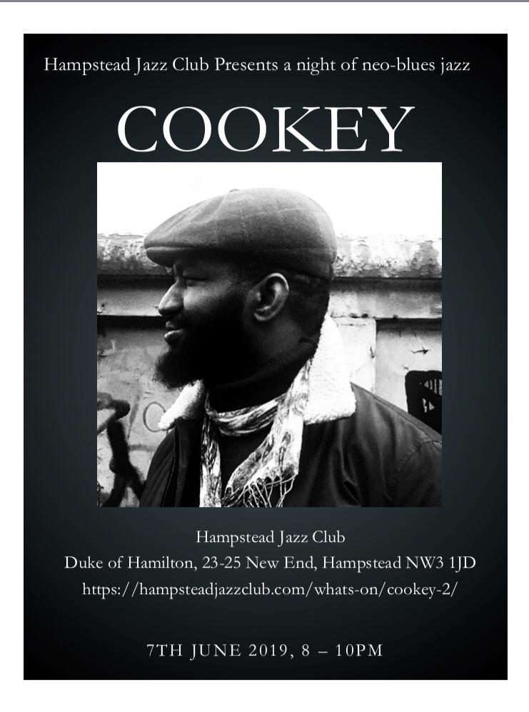 Sodi Cookey at Hampstead Jazz Club