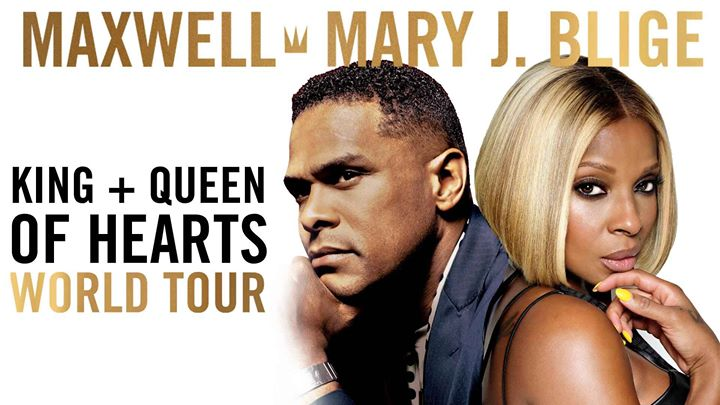 Mary J. Blige and Maxwell co-headline King and Queen of Hearts World Tour