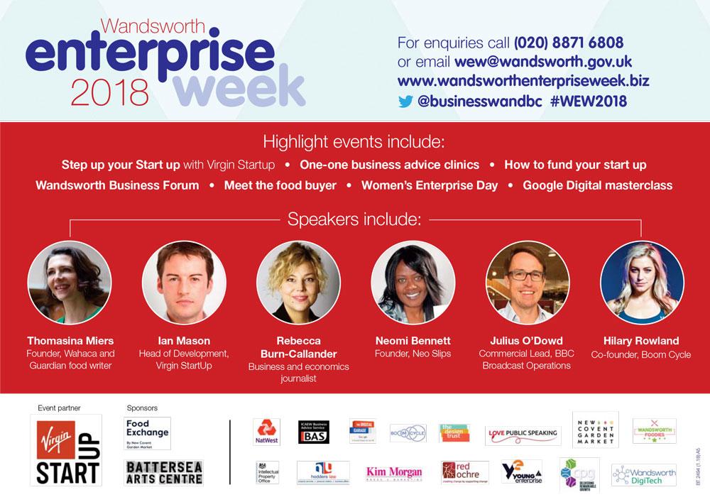 Wandsworth Enterprise Week 2018